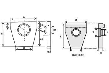 Блок портальной стенки СТ-9