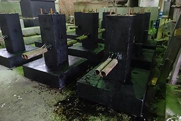 Блок ригеля промежуточной опоры