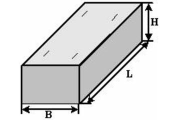 Фундаментный блок железобетонной прямоугольной водопропускной трубы Ф8.201