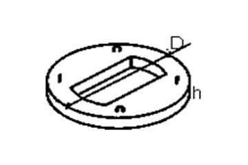 Крышка колодца КЦП 1-7