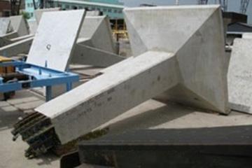 Фундамент под металлические опоры ЛЭП