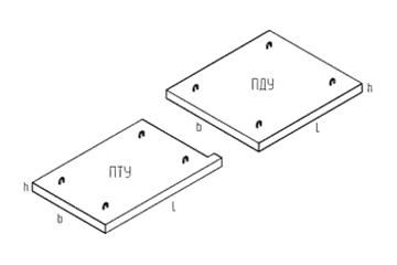 Плита ПТУ 220.210.14-6