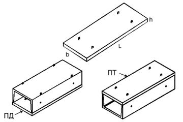 Плита ПД 36.45.6-9