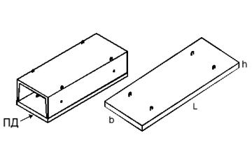 Плита ПД75.210.14-3
