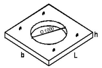 Плита опорная КЦО-2