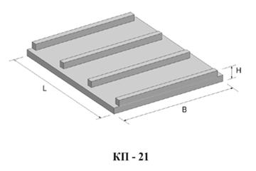 Плита КП-21