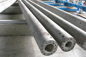 Стойки центрифугированные для опор ЛЭП