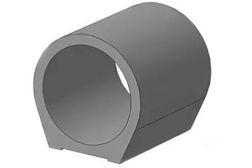 Звено круглое на плоском опирании 3КП 9.100